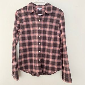 Standard JAMES PERSE 3 Plaid Button Up Long Sleeve